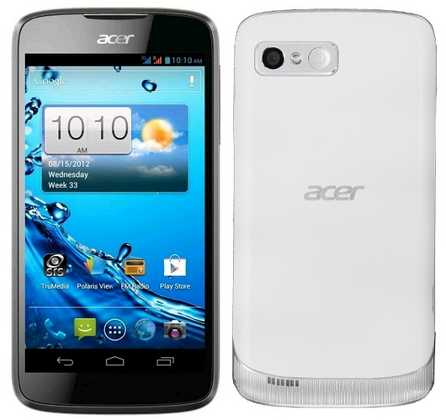 Manuale Italiano Acer Liquid Gallant E350 Smartphone Android