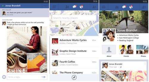 Facebook Nokia Lumia Ultima versione tante novita per WP 7 e WP 8