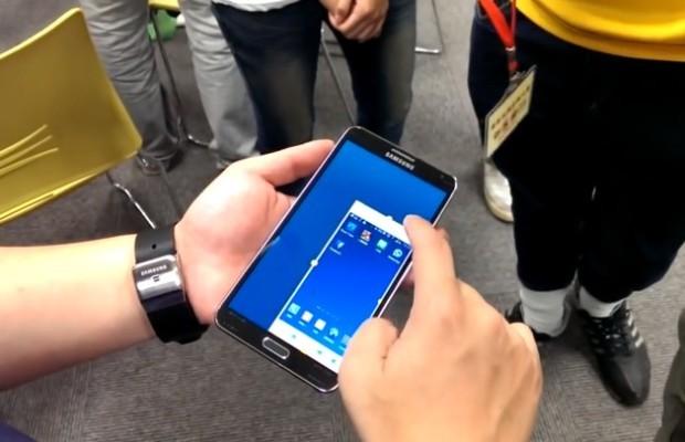 Galaxy Note 3 trucco e segreti come utilizzarlo con una mano sola