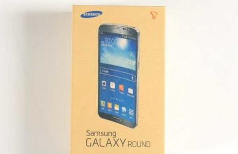 Primo Video Samsung Galaxy Roud il telefono curvo