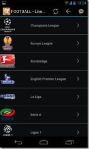 Calcio Stream Live guarda le partite di calcio live tv streaming su tab e smartphone