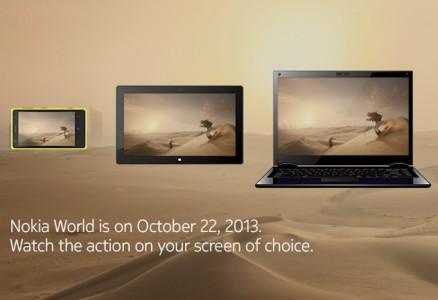 Live Tv e diretta streaming Nokia World 2013 2210 ore 900
