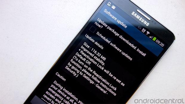 Aggiornamento Samsung Galaxy Note 3 ROM UDMJ6