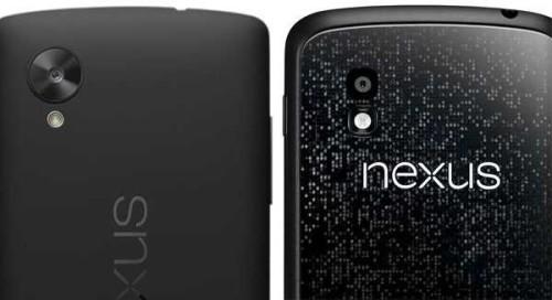 Nexus 5 e Nexus 4 fotografie in formato RAW per ottenere immagini al massimo livello