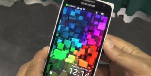 Telefono Tizen Z9005 Il primo smartphone appare in un handson video
