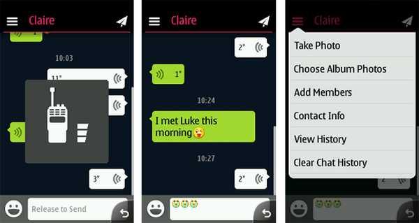 Download WeChat Nokia C3, Asha 207, 208, 300, 302, 515, C3-00, X2-01 e X2-00