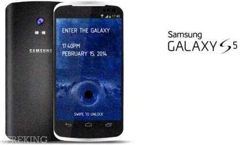 Galaxy S5 display QHD risoluzione di 2560 x 1440 560 ppi