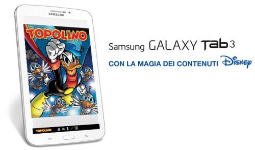 Manuale Italiano Galaxy Tab 3 SMT210 con la magia dei contenuti Disney