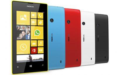Il Nokia Lumia 520 il telefono più venduto a Natale