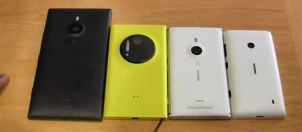 Nokia Lumia tutti gli smartphone del 2013 a confronto in un video
