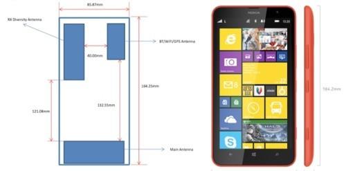 Nokia Lumia 1320 caratteristiche prezzo colori e disponibilit