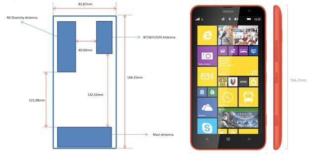 Nokia Lumia 1320 caratteristiche prezzo colori e disponibilità