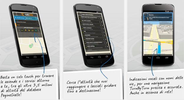 GPS Italia Gratis con navigazione Off-Line 3D per Android, iPhone e iPad