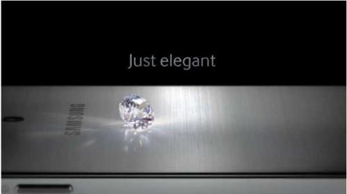 Samsung telefono con cover in metallo presentato domani