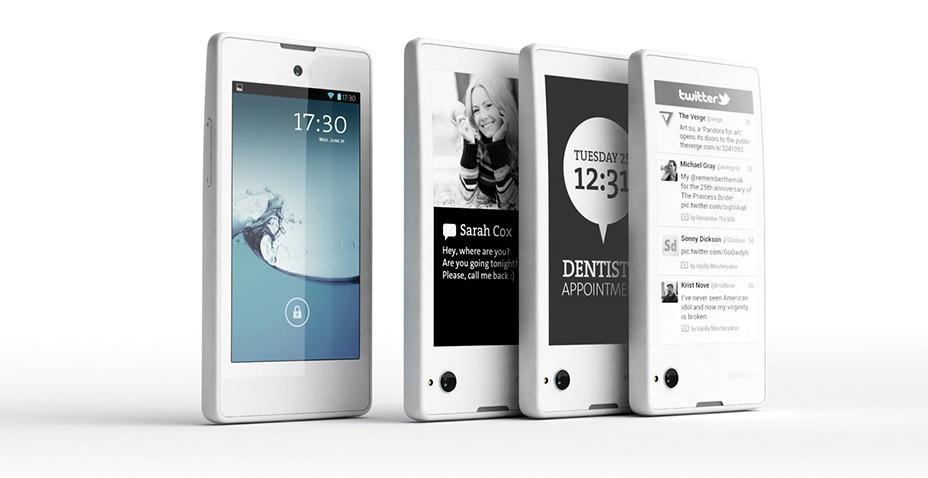 YotaPhone Telefono russo con due display smartphone