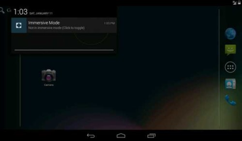App in Full screen senza root Android KitKat Full-Screen Mode