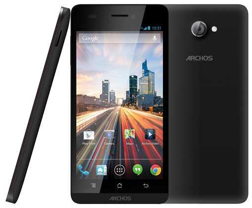 ARCHOS 45 e 50 Helium smartphone economici 4G Android 4.3