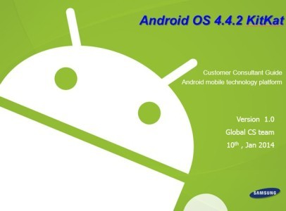 Manuale Android 442 per Galaxy Note 3 Download PDF