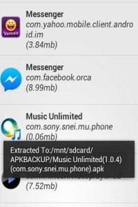 L' App Giusta per estrarre APK dal telefono per condivederlo