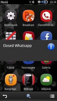 CloseWhatsApp su Nokia chiude Whatsapp ma i messaggi arrivano ugualmente!