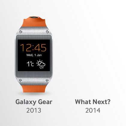 Galaxy Gear 2 in arrivo già al CES 2014 7-10 gennaio
