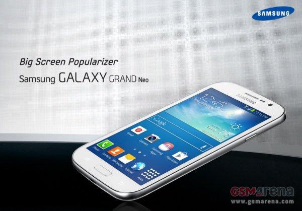 Galaxy Grand Neo Phablet economico al prezzo di 260 Euro