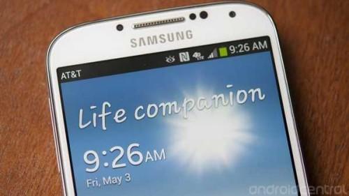 Guida Galaxy S4 cambiare la scritta sulla Home Life Companion