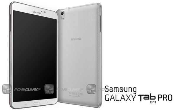 Galaxy Tab Pro 8.4 il Nuovo Tablet appare in foto