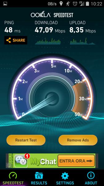 Wind LTE 4G arriva la super velocità su smartphone da mobile