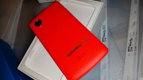 Anteprima Nexus 5 Rosso già nelle nostre mani