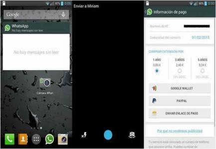Download WhatsApp con Widget per Messaggi non Letti e Kamera