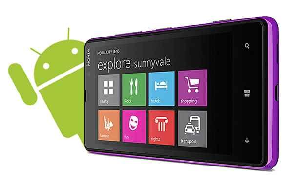 Windows Phone potrà utilizzare le applicazioni Android