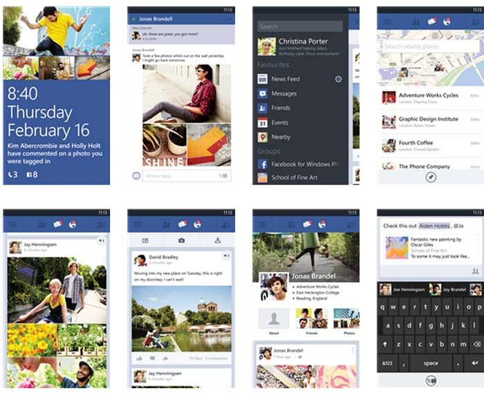 Facebook Nokia Lumia ora funzionante Download App aggiornata