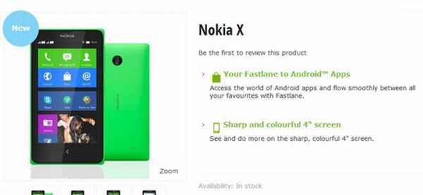 Nokia X in vendita ecco dove comprarlo subito il telefono