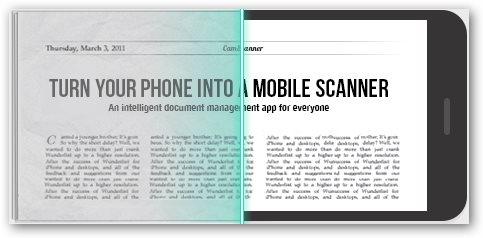 Come utilizzare il telefono per scannerizzare un documento