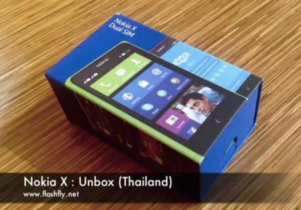 Nokia X Unboxing