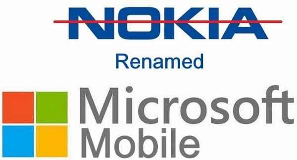 Microsoft Mobile sostituirà il marchio Nokia su telefoni e smartphone