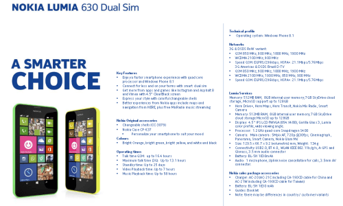 Anteprima Nokia Lumia 630, Lumia 635 e Lumia 930 i video appena rilasciati