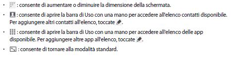 Galaxy S5 come usare il telefono con una mano sola