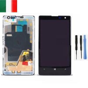 Nokia Lumia 1020 Riparare sostituire il display rotto video guida