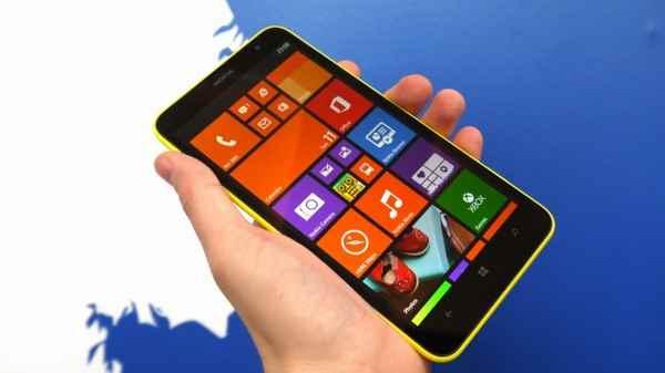 Nokia Lumia 1320 procedura di avvio del telefono e inserimento Scheda telefonica