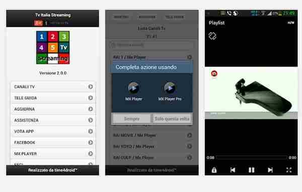 ANDROID Tv Italiane Streaming v2.3.0 - ITA