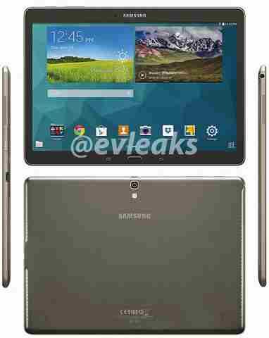 Samsung Galaxy Tab S In anteprima carateristiche