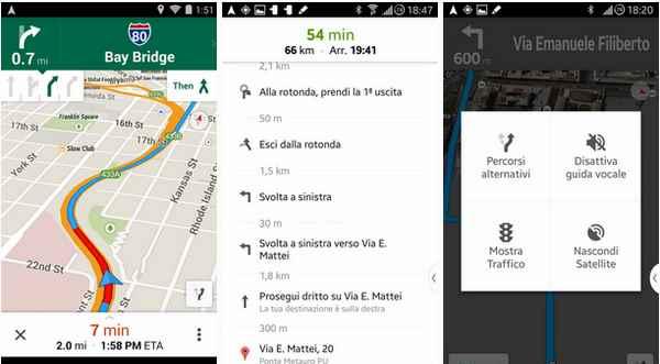 Google Maps 8 il navigatore ora funziona meglio ! Link download