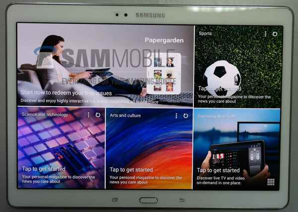 Galaxy Tab S 10.5 le prime foto del nuovo Tab Android con display Amoled