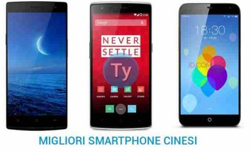 I Migliori telefoni Smartphone Android Cinesi OPPO XIAOMI ONE PLUS MEIZU