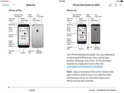 iPhone 6 e iPad iOS 8 manuale duso e libretto di istruzioni