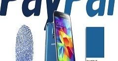 Samsung Galaxy S5 Paypal come usare impronte digitali per pagare