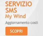 SMS My Wind Guida come disattivarlo si paga 9 centesimi a settimana
