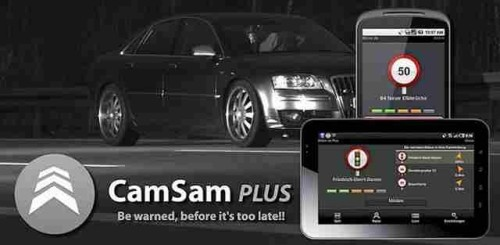 CamSam PLUS Apk segnalatore di autovelox per evitare multe